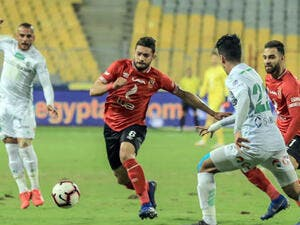 Ahly have two matches remaining against Arab Contractors and Zamalek (Photo: Ahram)