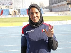 Sara Al Senani is the first female Emirati athlete to win a medal at the Paralympic Games. (Photo by Juidin Bernarrd)