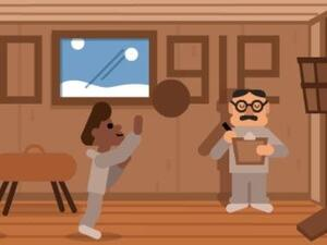 Google is paying homage to Dr. James Naismith who invented the game of basketball. (Photo: Google)