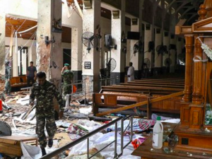 A string of bomb attacks mars Sri Lanka on Easter Sunday (AFP)