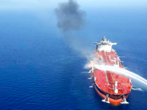 The tankers war heats up in the Gulf of Oman (AFP File Photo)