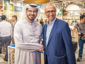 Talal Al Dhiyebi, Aldar, CEO_Nilesh Ved, Chairman, Apparel Group