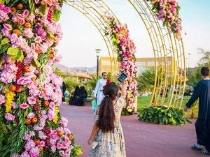 Rose Village blooms as Taif offers 'a global touch of joy' (Twitter)