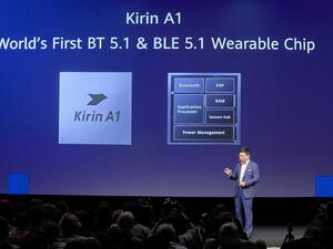 The new Kirin A1 chip is Huawei's first in-house designed wearable chipset and its features look to foreshadow fresh innovation in the wearables space.