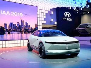 Concept model showcases Hyundai's future design direction for electric vehicles
