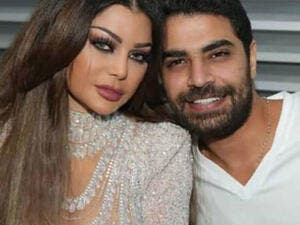 Haifa Wehbe and Mohammed Waziri denied their emotional attachment without clarifying things or commenting clearly Source lahamag Instagram