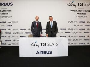TSI Seats Enters the BFE Catalogue of Airbus