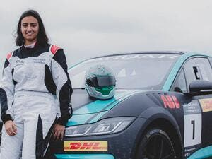 Reema Juffali will create history later this month at the Diriyah Circuit. (Supplied)