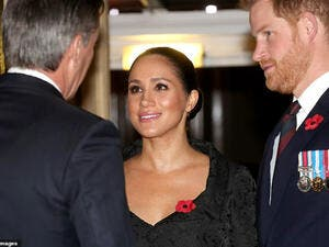 Prince Harry and Meghan Markle at Festival of Remembrance