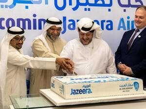 Jazeera Airways lands at Al Ain International Airport, UAE in first ever direct service from Kuwait