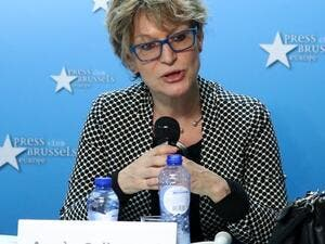 The United Nations special rapporteur on extrajudicial executions, Agnes Callamard (Twitter)