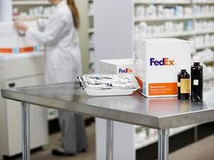 SAB Express Showcases FedEx Healthcare Solutions.