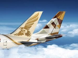 The partnership expands on the codeshare agreement between the two airlines and provides further cooperation between the frequent flyer programmes, Etihad Guest and Falconflyer.