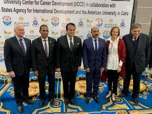 AUC and USAID Celebrate the Inauguration of Aswan University Center for Career Development