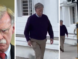 The Internet Has a Serious Question: Is This Man Walking Around Doha in a Video Actually John Bolton?