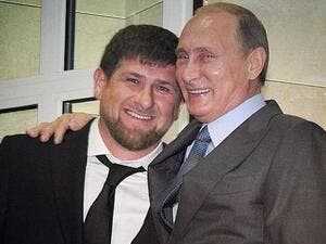 The 44-year-old had vocally opposed both Vladimir Putin and Chechen leader Ramzan Kadyrov (pictured together). (Instagram)