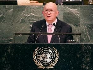 Vassily Nebenzia, the Russian ambassador to the UN (Twitter)
