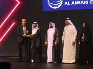 Al Ansari Exchange wins the 'Sharjah Excellence Award'
