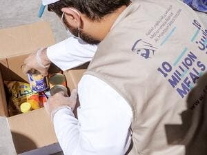 Al Ansari Exchange Pledges dh1.2 Million to Provide 150,000 Meals in '10 Million Meals' Campaign