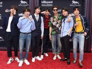 K-Pop boyband BTS is one of South Korea's best known and most lucrative musical exports (AFP Photo/LISA O'CONNOR)