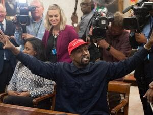"anye West, the entertainment mogul who urges listeners in one song to ""reach for the stars, so if you fall, you land on a cloud,"" announced SJuly 4, 2020, he is challenging Donald Trump for the US presidency in 2020. SAUL LOEB / AFP"