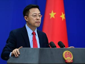 Chinese foreign ministry spokesperson Zhao Lijian (Twitter)