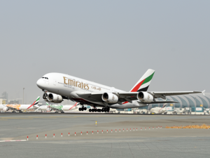 Emirates flight EK073 will receive a special welcome on arrival at Paris Charles De Gaulle