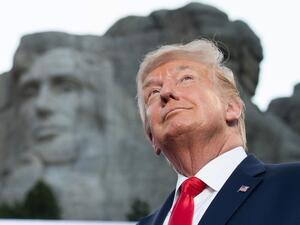 White House asked if Trump could be added to Mount Rushmore (Twitter)