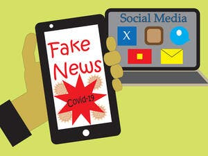 Fake COVID-19 News. (Shutterstock/ File Photo)