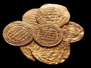 Ansient golden islamic coins. (Shutterstock/ File Photo)