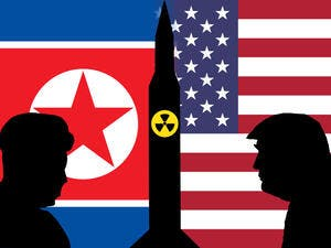 US President Donald Trump and North Korean Supreme leader Kim Jong Un. (Shutterstock/ File Photo)