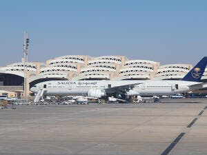 Planes preparing for take off at Riyadh King Khalid Airport. (Shutterstock/ File Photo)
