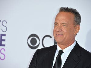 Actor Tom Hanks at the 2017 People's Choice Awards at The Microsoft Theatre, L.A. Live. (Shutterstock/ File Photo)