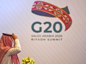 Saudi Arabia hosts the G20 summit Saturday in a first for an Arab nation, but the scaled-down virtual format could limit debate on a resurgent coronavirus pandemic and crippling economic crisis. FAYEZ NURELDINE / AFP
