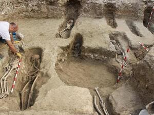 Archaeologists discover ancient Islamic necropolis in Spain related to Al-Andalus era. (Twitter)