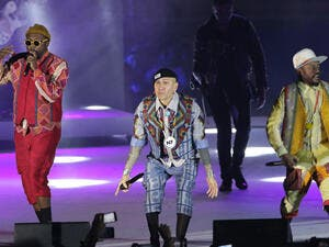 The Black Eyed Peas, formed as a rap group in 199