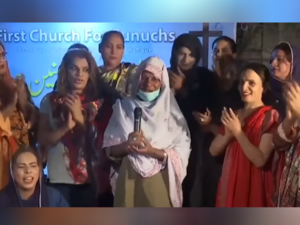 'Eunuchs Are Favored by God': Inside Pakistan's First Trans Church in Karachi