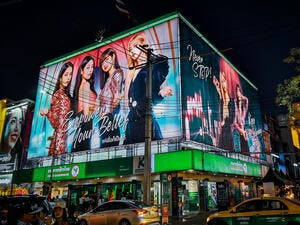 """Lovesick Girls,"" the music video for the hit song by K-pop group Blackpink, has reached another milestone. (Shutterstock)"