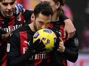 The duo are both asymptomatic and isolating following positive swab tests on Saturday, with Milan set to play Cagliari on Monday (Photo: AFP)