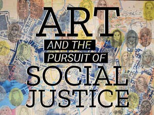 "The initiative, called ""Art and the Pursuit of Social Justice,"" includes work framed by discussions to place them in a social context from the The Departments of Cinematic Arts, Dance, English, Theatre Arts, the School of Music, the International Writing Program, the Nonfiction Writing Program."