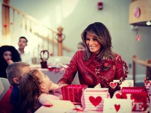 On this Valentines Day, I think of the brave & inspirational children, Melania (Insagram)