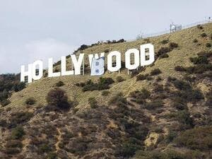 The Hollywood Sign is an American landmark and cultural icon overlooking Hollywood, Los Angeles, California. (Twitter)