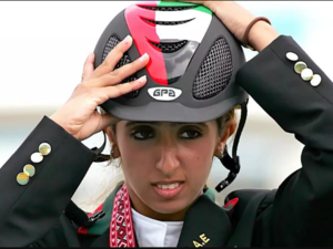 Well-known equestrian show jumper Sheikha Latifa al-Maktum attempted to flee the UAE in 2018 on a boat that was then intercepted by commandos off the coast of India MARWAN NAAMANI AFP/File
