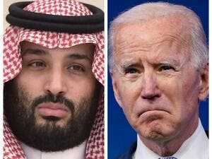 Crown Prince Mohammed and President Joe Biden