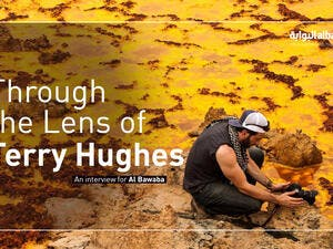"""I've always found value in trying to achieve a connection with a subject, even if small, "" Terry Hughes"