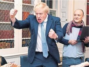 Boris Johnson: A fit of anger!
