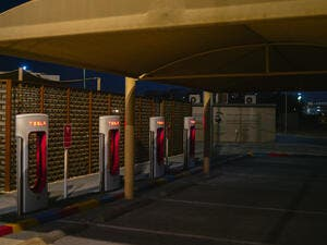 Charging stations in Abu Dhabi