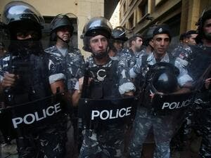 Lebanese Police in Beirut (AFP/File Photo)