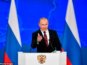 Vladimir Putin to target weapons at the US should it deploy new intermediate-range missiles in Europe following America's withdrawal from a key arms control pact. (AFP/ File Photo)