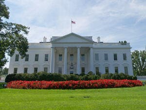 The north side of the White House  (AFP/File Photo)